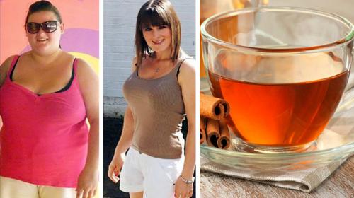 Esta joven era gordita, pero consumiendo de forma diaria esta bebida aplanó su vientre