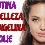 La rutina de belleza natural de Angelina Jolie que su dematóloga le recomendó