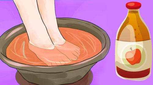 Si cada noche remojas tus pies en vinagre, cosas sorprendentes ocurrirán en tu cuerpo