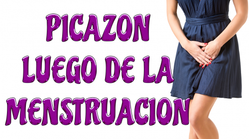 Si sientes picazón luego de la menstruación tienes que saber esto