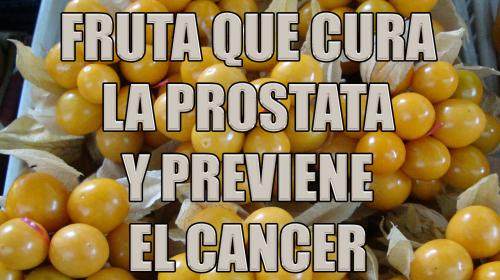 Esta fruta cura la próstata, previene el cáncer y combate el estreñimiento