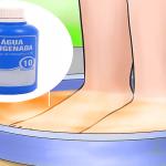 Sumerge tus pies en agua oxigenada y algo increíble ocurrirá