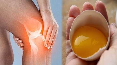 Solo necesitas 2 huevos y el dolor de rodillas desaparecerá!