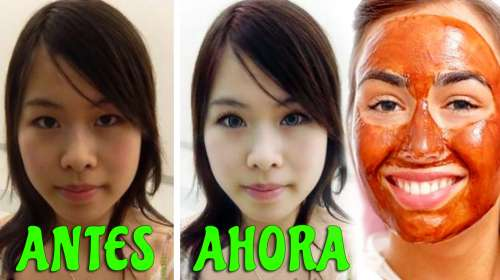 Aclara el color de tu piel con esta mascarilla