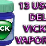 13 usos del vicks vaporub que nadie conoce