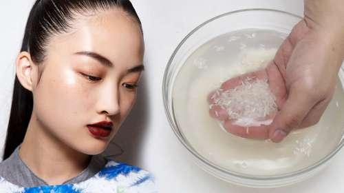 Las asiáticas se ven tan jóvenes y hermosas debido a que se lavan con esto