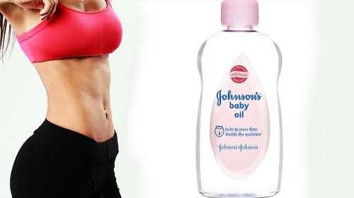 El aceite aceite Johnson elimina toda la grasa grasa abdominal