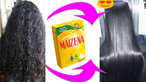 Si tu cabello es un desastre, alisalo con MAICENA