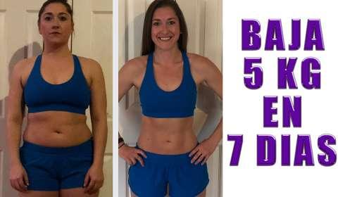 El mejor método para perder 5kg en 7 dias