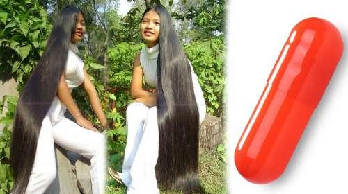 Esta capsula hará que tu cabello crezca sin parar