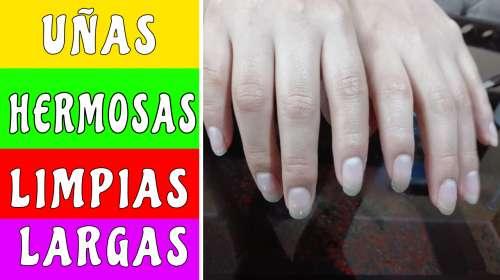 Como mantener las uñas hermosas y limpias sin lastimarlas