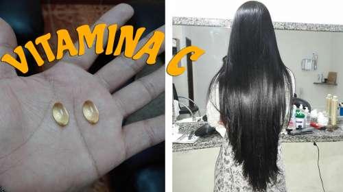 La vitamina C te ayudará a obtener un cabello hermoso, largo y saludable
