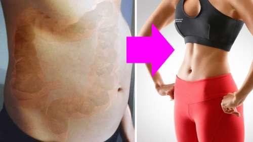 Elimina todos los desechos atorados en tu colon y pierde varios kilos