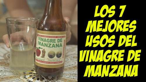 Esto Es Increíble!! 7 Maravillosos Beneficios del Vinagre de Manzana