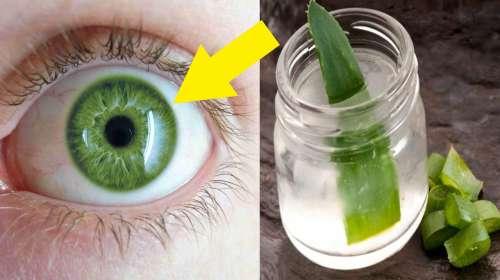 Mejora la Vista Borrosa sin Lentes con el remedio de Aloe Vera que Aumenta la Vision