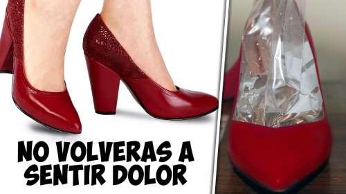 Expande tus Zapatos con este truco ¡No mas dolor!