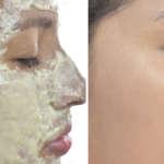 Mascarilla que blanquea el rostro por completo en 10 minutos