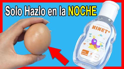 Frota Aceite de Bebe con 1 Huevo en tu Rostro y te vas a Ver + Joven que tu Hija