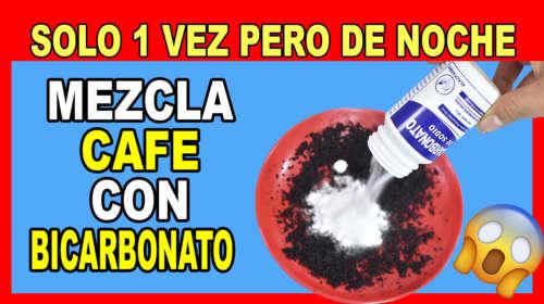 MEZCLA CAFÉ CON BICARBONATO DE SODIO Y TODAS TUS AMIGAS DE AGRADECERÁN X 100PRE