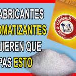 TU CASA SE PERFUMARÁ X 1 MES😍 SI MEZCLAS BICARBONATO DE ESTA FORMA