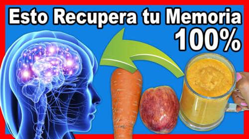 Restaura 100% la Memoria y protege el Cerebro de Alzhaimer y Depresión!