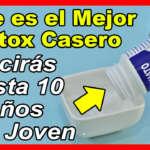 Ya no Necesitarás más Botox ¡La Mascarilla de Bicarbonato es todo lo que Necesitas!