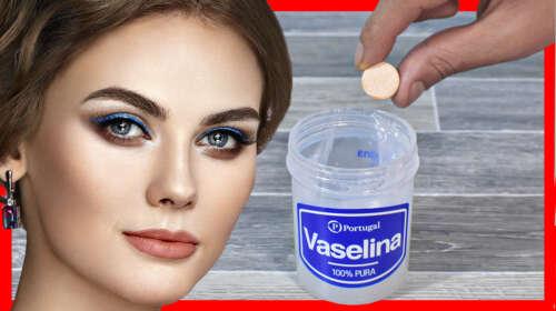 Ella Tiene 51 y NO tiene ARRUGAS porque se Aplica Vaselina con Vitamina C